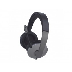 Auriculares Stereo para PC (Gris)